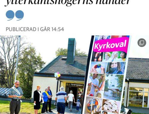 Skriver i Dagens Nyheter om religion och politik – aldrig stillastående