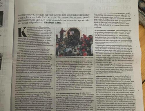 Kulturessä i Dagens Nyheter om en märklig allians som bidrar till att ifrågasätta vårt gemensamma samhälle.